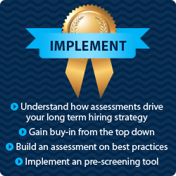 Implementing a Pre-Screening Assessment