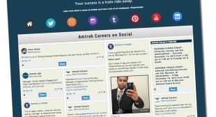Social Site Aggregates Employer Social Accounts onto One URL