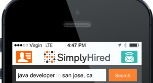 Simply Hired Updates Mobile Apps for iOS and Android