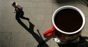 The size of your latte has everything to do with your status at work