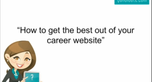 Get the most out of your career site
