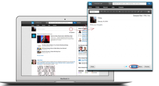With New Publishing Tools, LinkedIn Makes Everyone a Professional Blogger