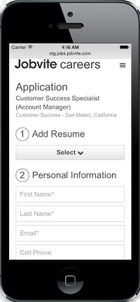 Jobvite rolls out smart mobile career sites