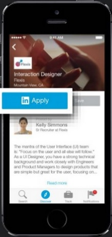 LinkedIn debuts IOS job-search app
