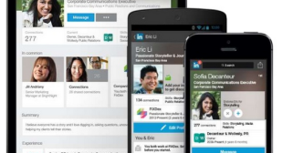 LinkedIn revamps its mobile app with a new profile look