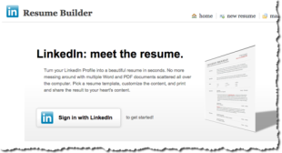 Turn your Linkedin profile into an actual resume with this free tool
