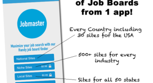 Jobmaster for iOS is the Definitive Job Board Directory