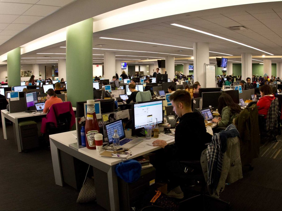 Office spaces are getting smaller — but millennials and extroverts are actually better off