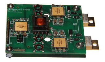 Isolated Gate Driver suits high power density applications.