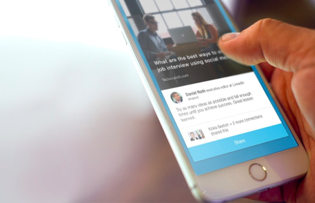 LinkedIn Raises Its Game In Social Media With Elevate, An App To Suggest And …