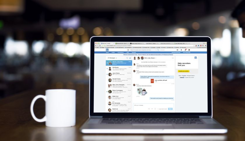 "Finally, LinkedIn revamps its boring ""inbox"" into a chat-like messaging feature"