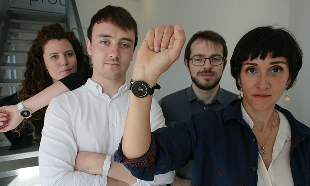 The innovators: the pulsating wristband that sets your daily rhythm