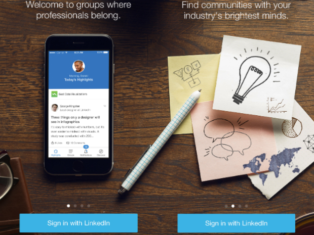 LinkedIn Groups gets (mediocre) makeover, new iOS app