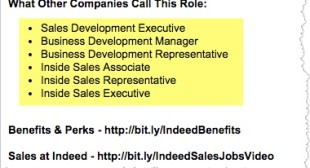 Indeed's own job descriptions offer glimpse into keyword strategy