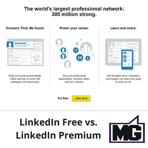 LinkedIn is the dominant social media for business