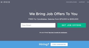 Hired.com's CEO speaks about their Funding