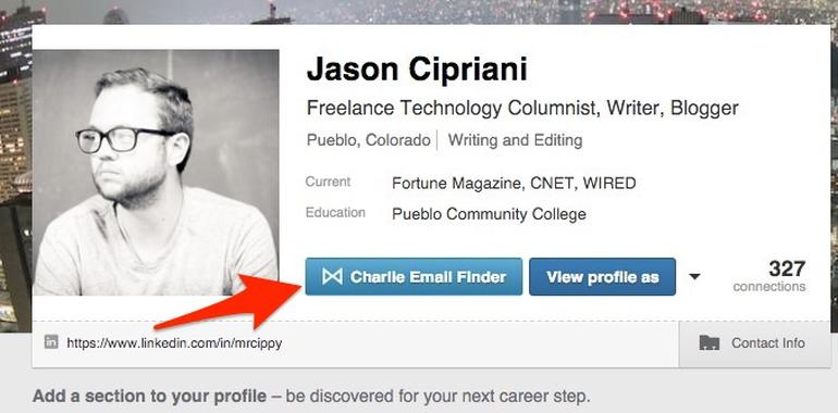 This tool will uncover anyone's email on LinkedIn