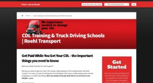 5 Trucking Companies That Have Great Career Sites