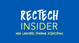 Learn Whats New in Recruiting Technology in the October RecTech Insider