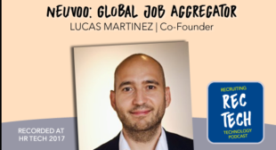 Lucas Martinez, Co-founder of Job Aggregator Neuvoo