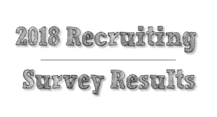 2018 Recruiter Survey Results