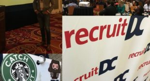 RecruitDC with Ninh Tran and Chad Norman