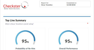 OutMatch Buys Checkster for Candidate Evaluation, Post-Hire Analysis – HCM Technology Report