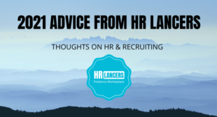 2021 HR Advice from the HR Lancers