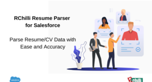 RChilli Resume Parser in Salesforce to Save Upto 89% of Recruiter's Time